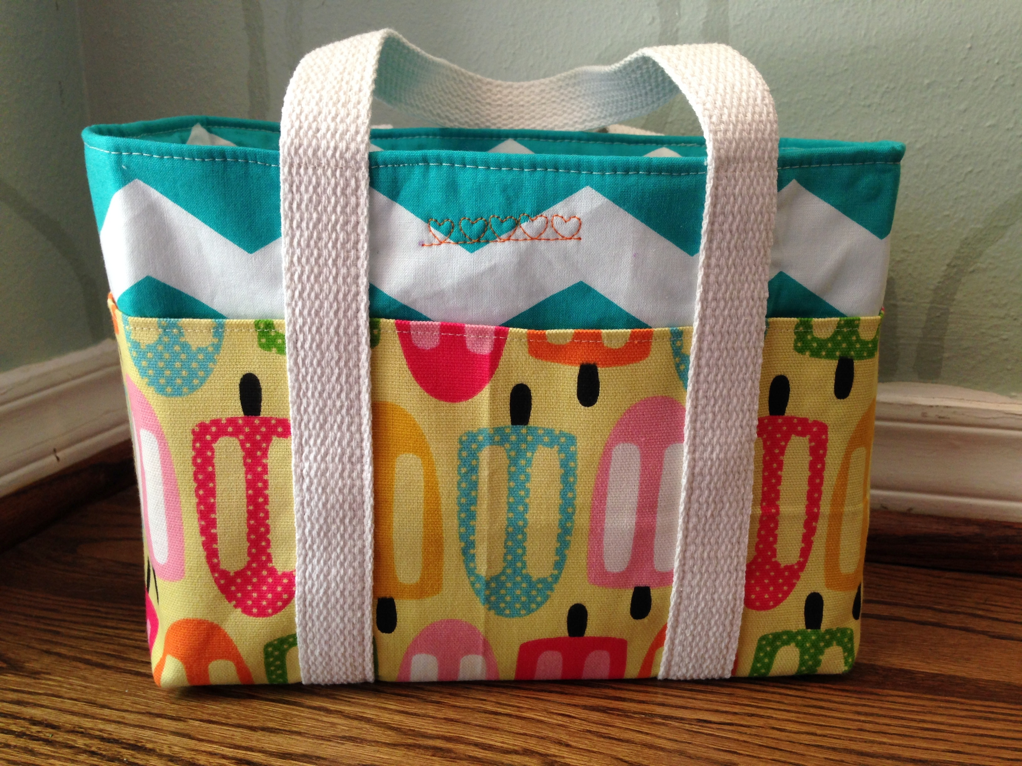 Pockets Galore Lunch Tote