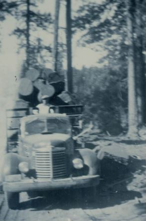 Herb Lym Logging edit truck front
