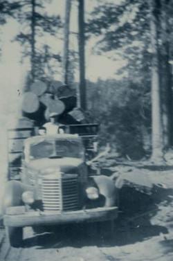 Herb Lym Logging edit truck front
