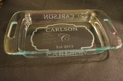 Etched Pyrex