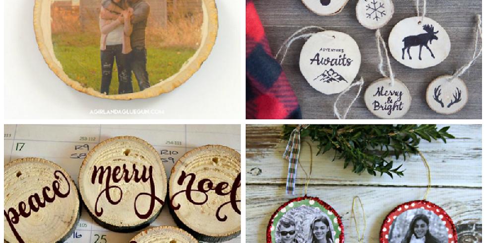 December Craft Club - Ornaments