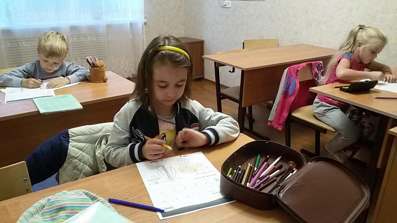 Группа английского языка 5-6 лет