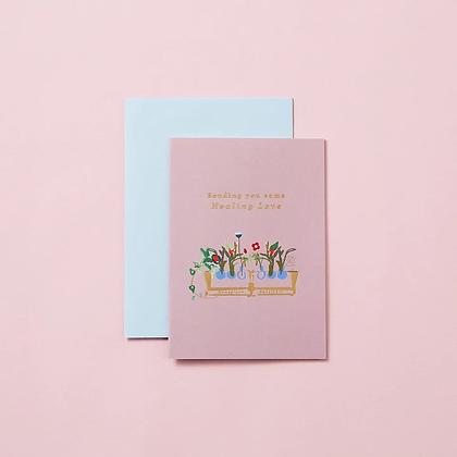 'Sending Healing Love' Card