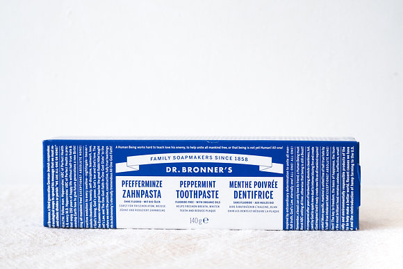 Dr Bronners Toothpaste