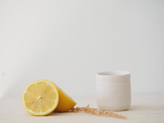 Ice White Espresso Cup