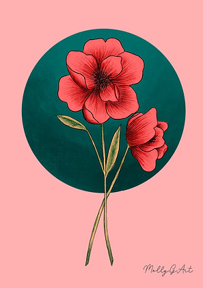 Blush Print - Molly Green Art