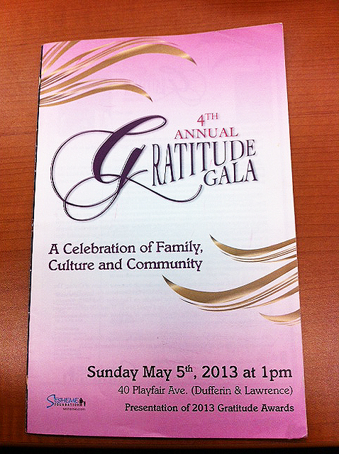 Sesheme Gala Program
