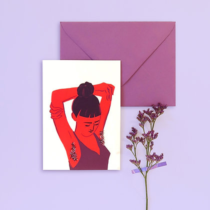 Let it Grow Greeting Card