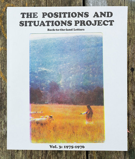 The Positions and Situations Project books, Volume 3 by Alex Arzt