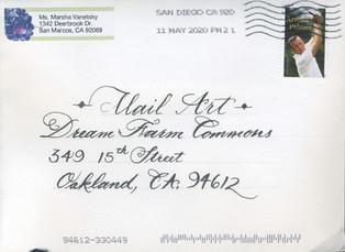 Envelope from Marsha Vanetsky