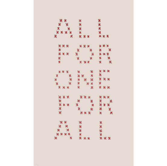 All for One for All By Lena Wolff