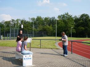 Film-Dreh auf der Solarbank (09./10. Juni)