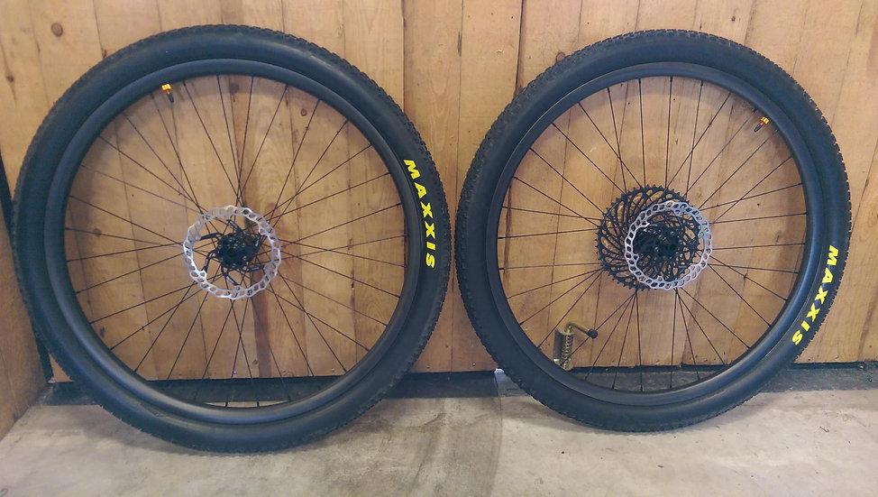 Blisk One Boost test wheels
