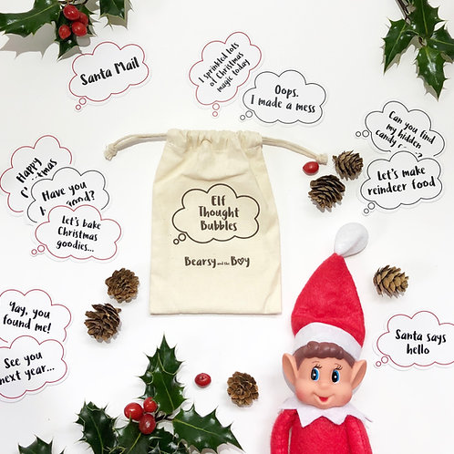 Elf Thought Bubbles