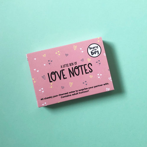 A Little Box of Love Notes