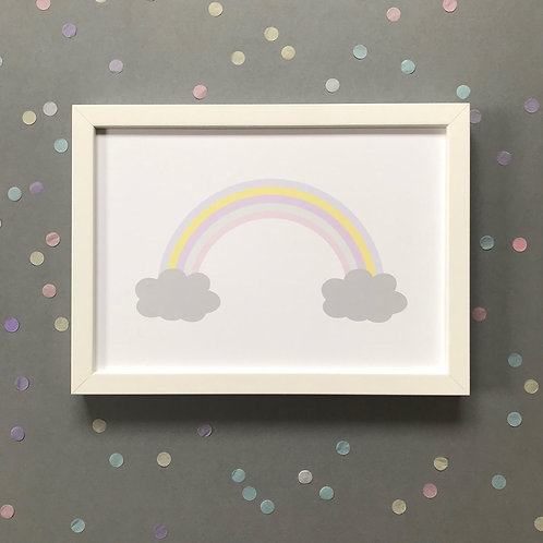 Cloudy Rainbow - Print
