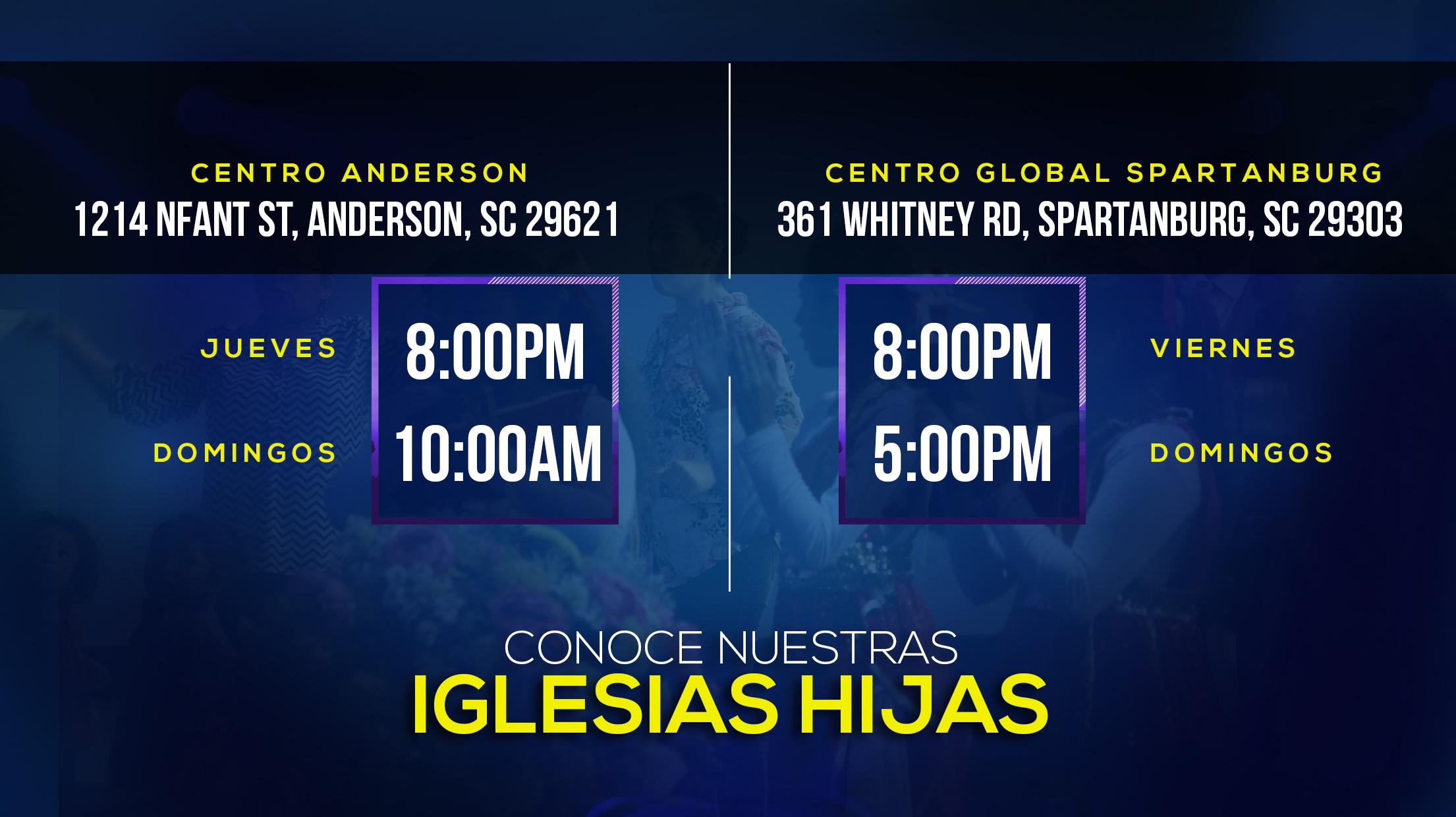 Centro Global de Avivamiento -  Iglesias Hijas