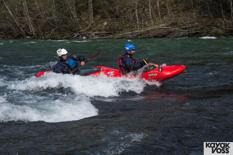 Tandem kayak trip