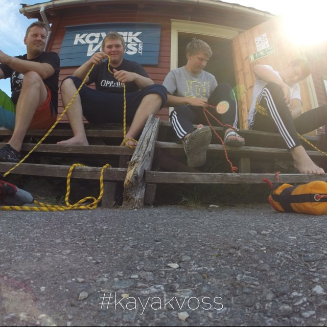 Instagram - #kayakvoss safety course and
