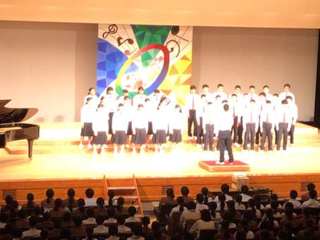 前原西中学校合唱コンクール2019