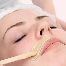 Upper lip waxing