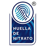 Diseño de sello de Certificación Huella de Nitrato