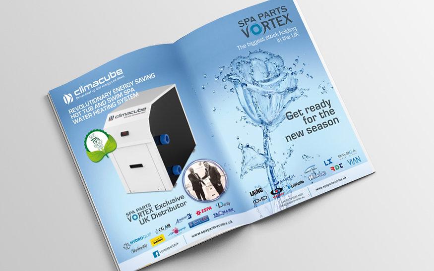 Campaña de Marketing de anuncio en revista