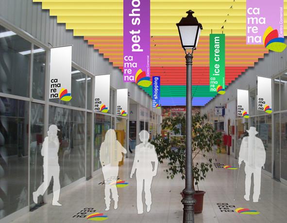 Diseño de Centro Comercial