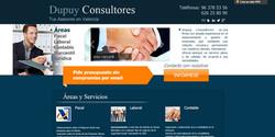 Diseño web para Dupy Consultores