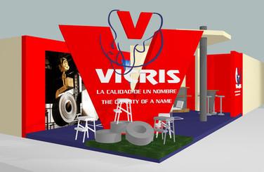 Propuesta diseño de stand - Vicris