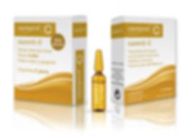 Packging producto caja cosmética Carevit-C