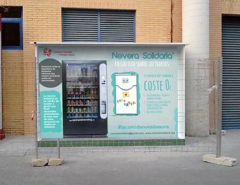 Nevera Solidaria - Colegio Mayor Galileo Galilei