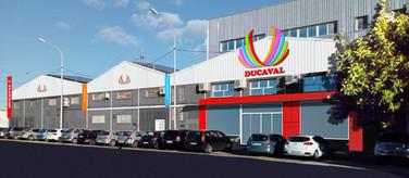 Fachada instalaciones Ducaval en Horno Alcedo