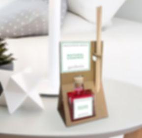 Diseño de packagini para ambientador