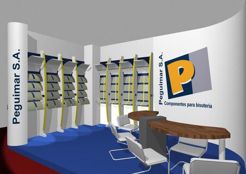 Diseño de stand para Peguimar