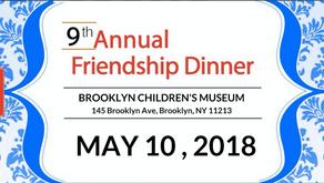 9th Annual Friendship Dinner