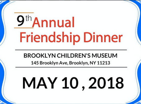 9th Annual Friendship Dinner