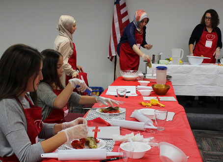 October's Cooking Class at Staten Island