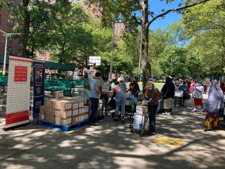 Qurbani Distribution in the Bronx