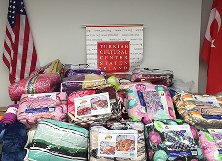 Blanket and Coat Drive for Syrian Refugees
