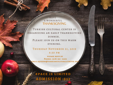 Early Thanksgiving Dinner at TCC Queens