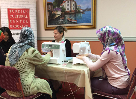 Sewing Class in TCC Brooklyn