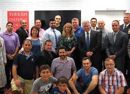 TCCQ Ifar with NYPD Community Affairs Officers
