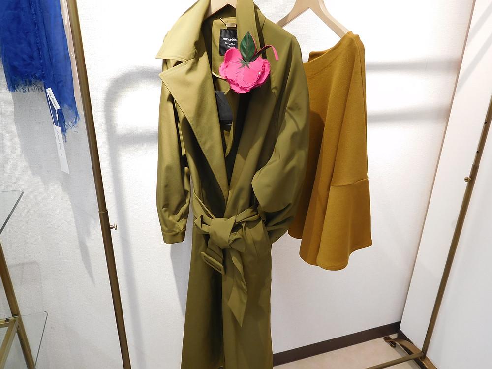 MICA&DEAL 37000円+TAXトレンチ