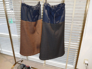 ミューニック  デザインスカート