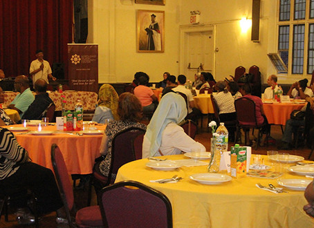 Iftar with members of Grace Episcopal Church