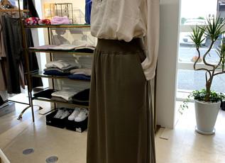 pupura  裏起毛のスカート
