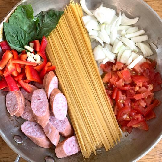 one pan pasta