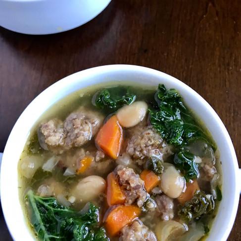 Tuscan Kale Soup