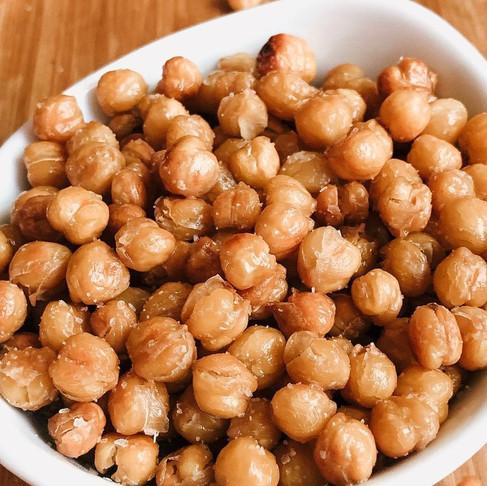 Salt and Vinegar Garbanzo Beans